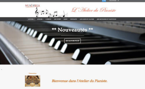 Projet Musicréa L'Atelier du Pianiste - Seb Services Informatique Belfort