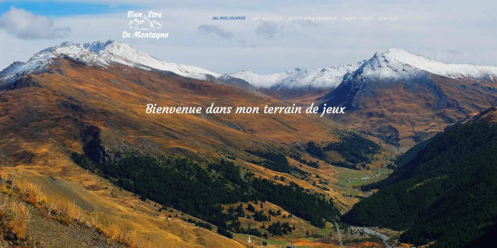 Projet Grand Bien Etre en Montagne - Seb Services Informatique Belfort