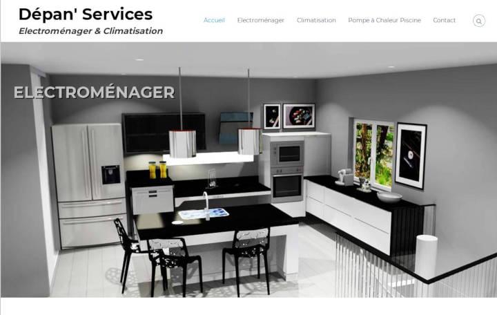 Projet Grand Dépan' Services - Seb Services Informatique Belfort