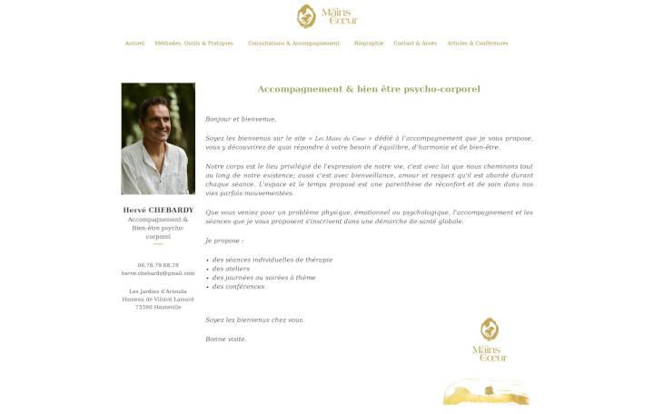 Projet Grand Les Mains du Coeur - Seb Services Informatique Belfort