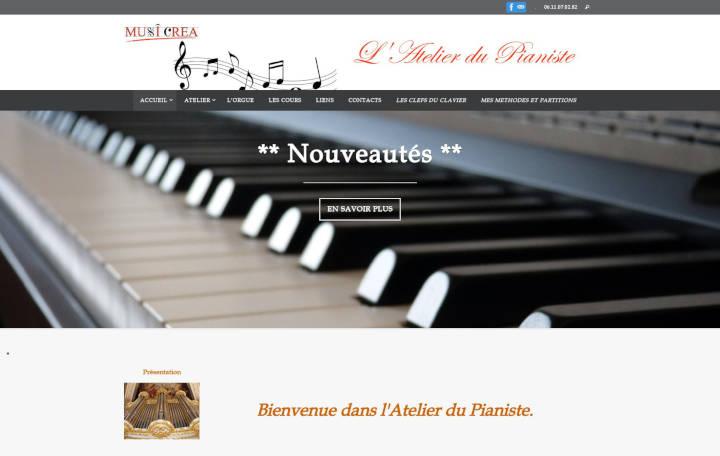 Projet Grand Musicréa L'Atelier du Pianiste - Seb Services Informatique Belfort